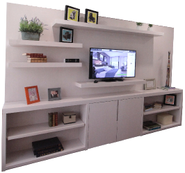 muebles tv y portafolio | decorito design